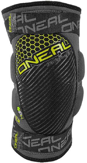 ONeal Sinner Kevlar Knee Guards gray/neon